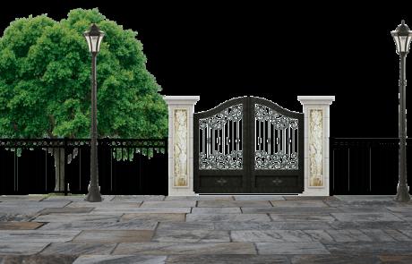 יתרונותיה של גדר אלומיניום